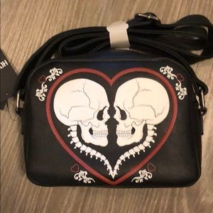 Skeleton Loungefly purse